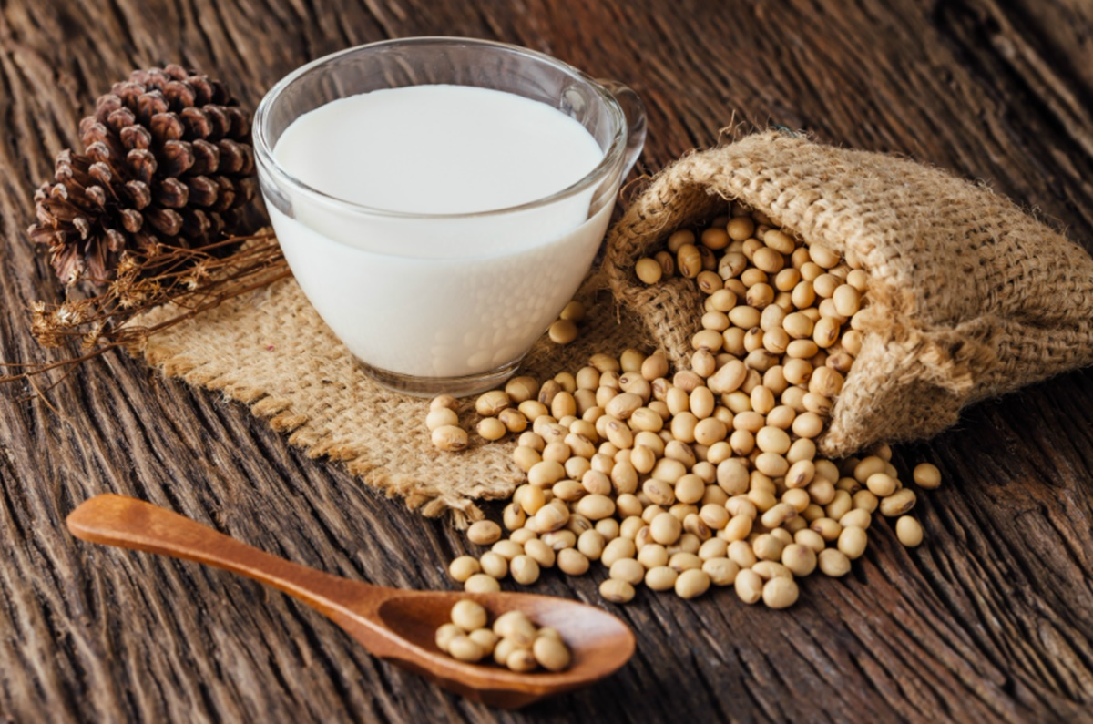 Bitkisel süt çeşitleri Soya sütü