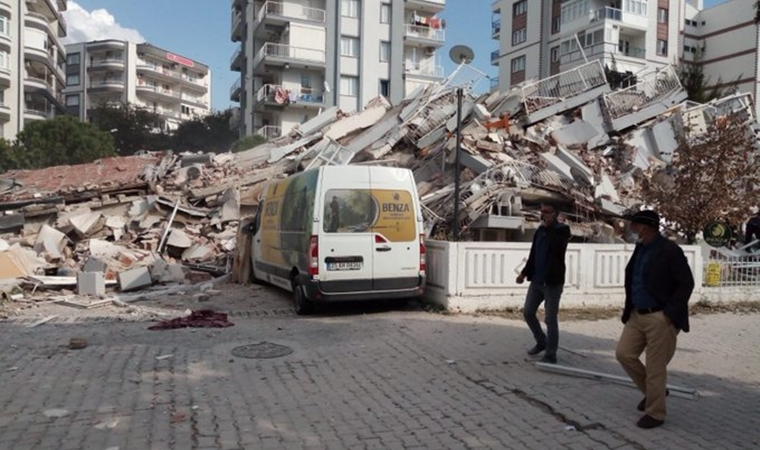 izmirde deprem