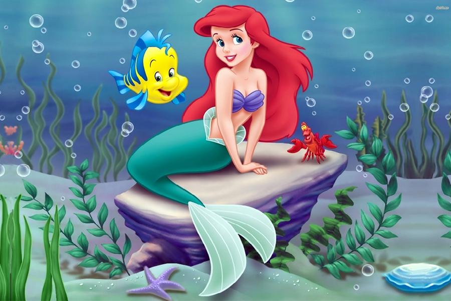 küçük deniz kızı masal