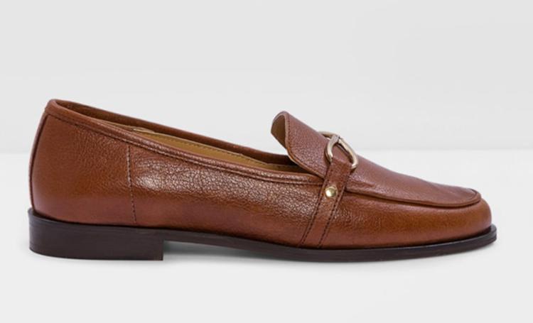 deri loafer ayakkabı