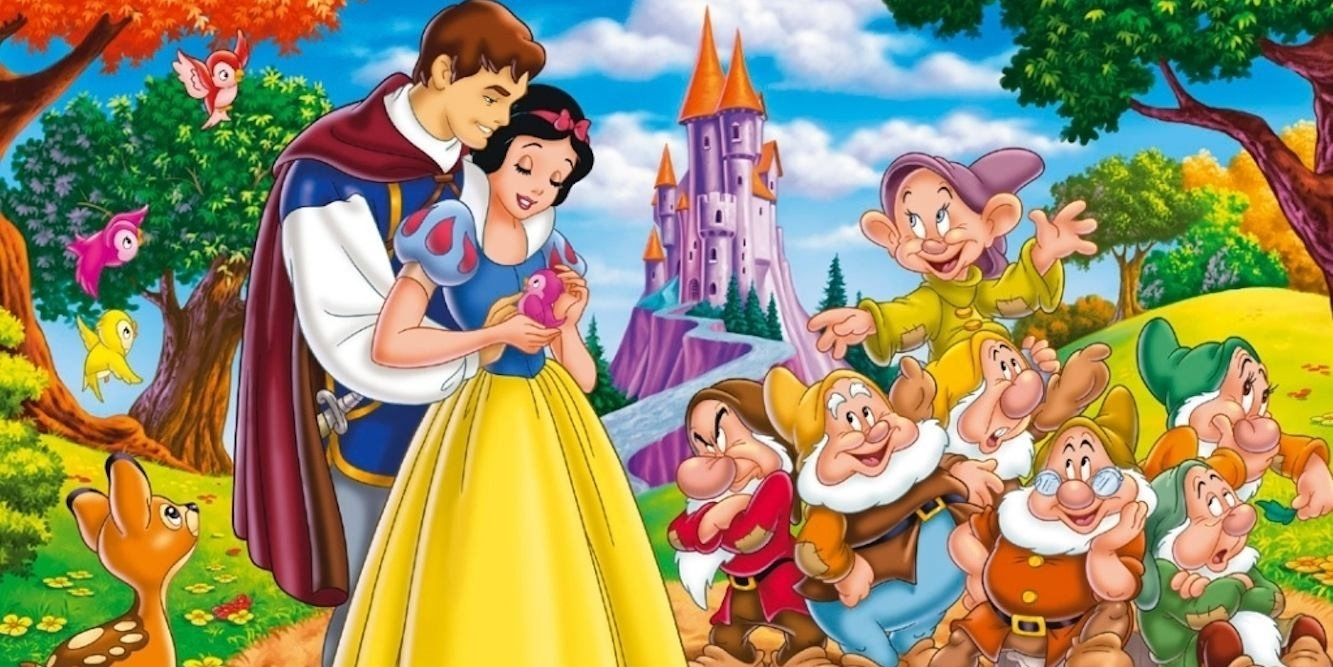 Pamuk Prenses ve Yedi Cüceler masal