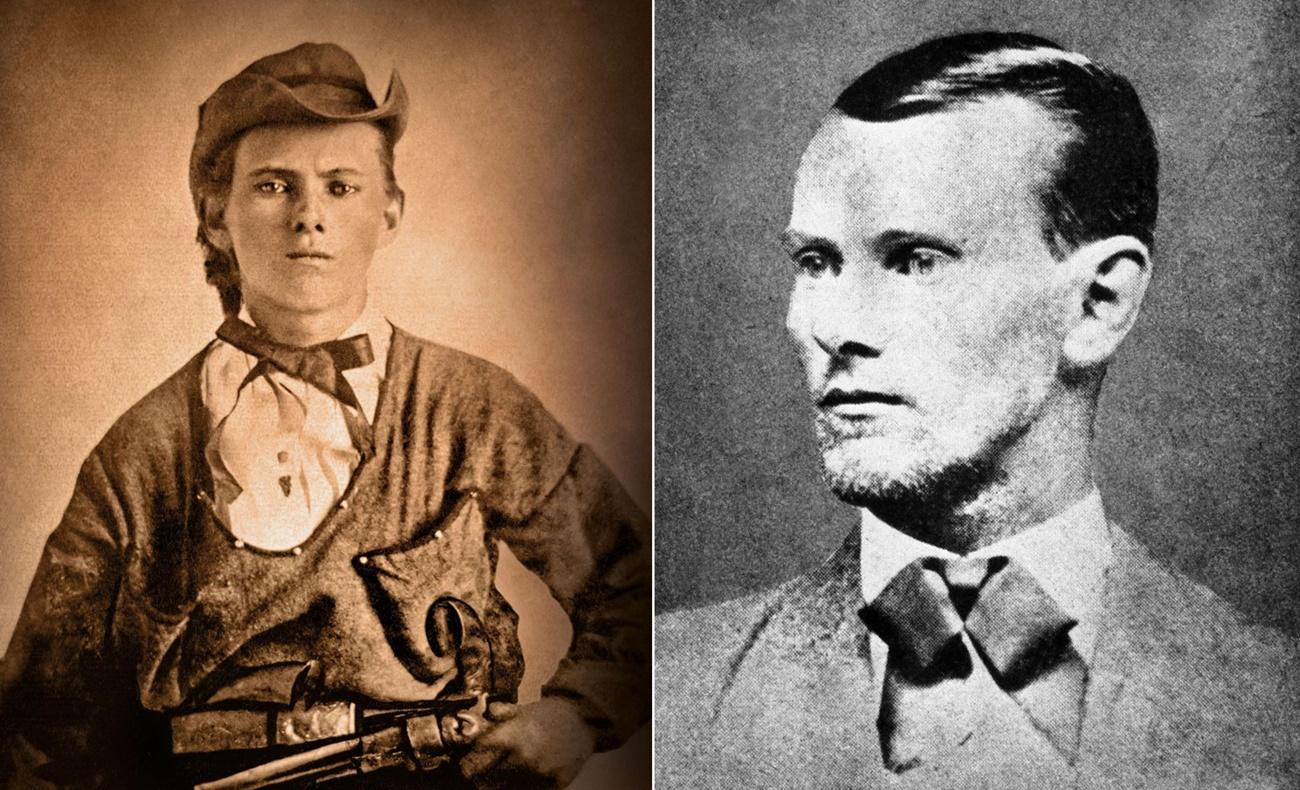 Vahşi Batı haydutları - Jesse James