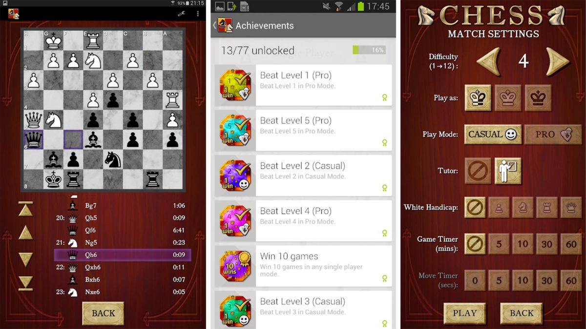 Chess Free - Mobil satranç uygulamaları