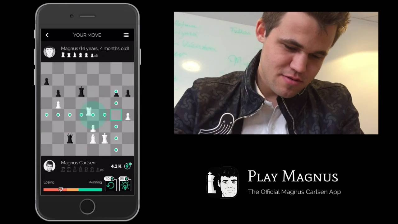 Play Magnus - Mobil satranç uygulamaları