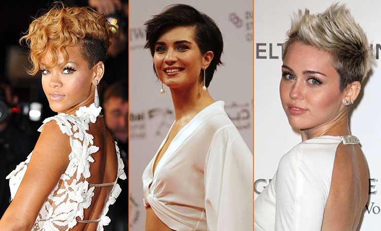 çok kısa saç modelleri bayan kadın listelist