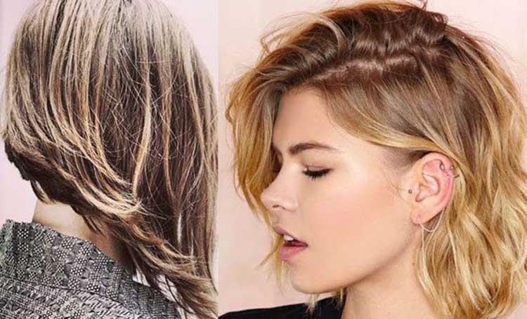 asimetrik dalgalı saç kesimi modelleri bayan kadın listelist