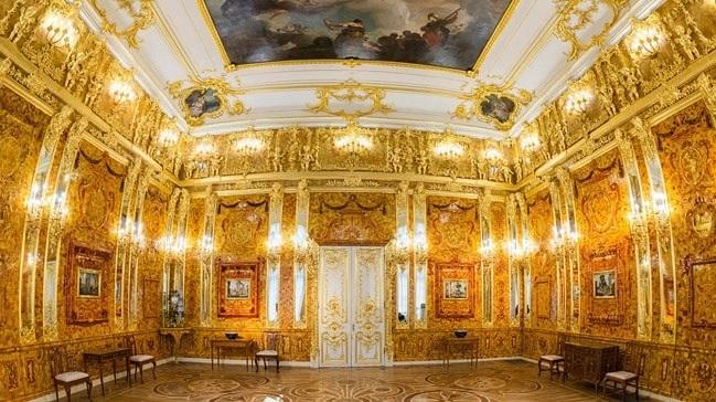 Kehribar Oda amber odası rusya listelist kayıp hazineler