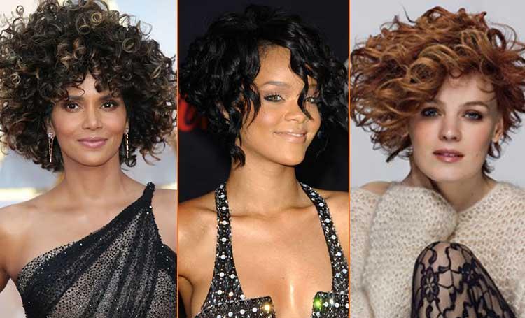 kısa kıvırcık saç modelleri bayan kadın listelist