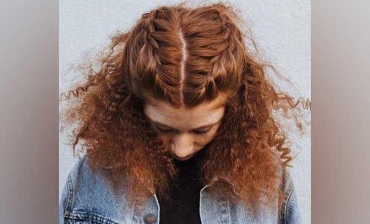 kıvırcık saç modelleri örgü