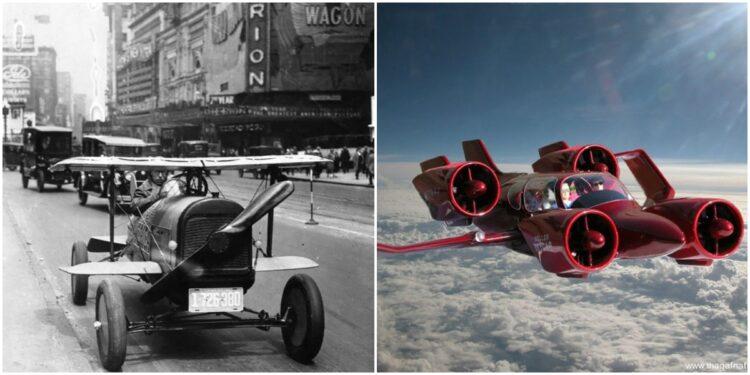 1841'den Günümüze: Çığır Açması Beklenen Uçan Arabaların Tuhaf Tarihi