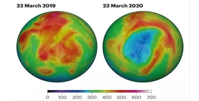 Kuzey Kutbu ozon tabakası