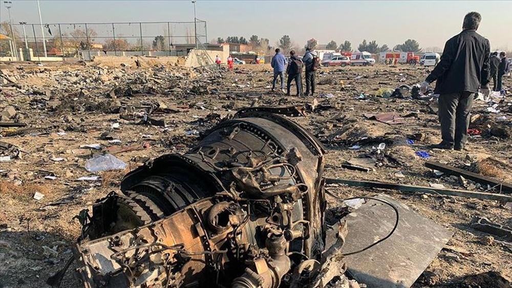 2020 felaketleri- İranda düşen Ukrayna uçağı