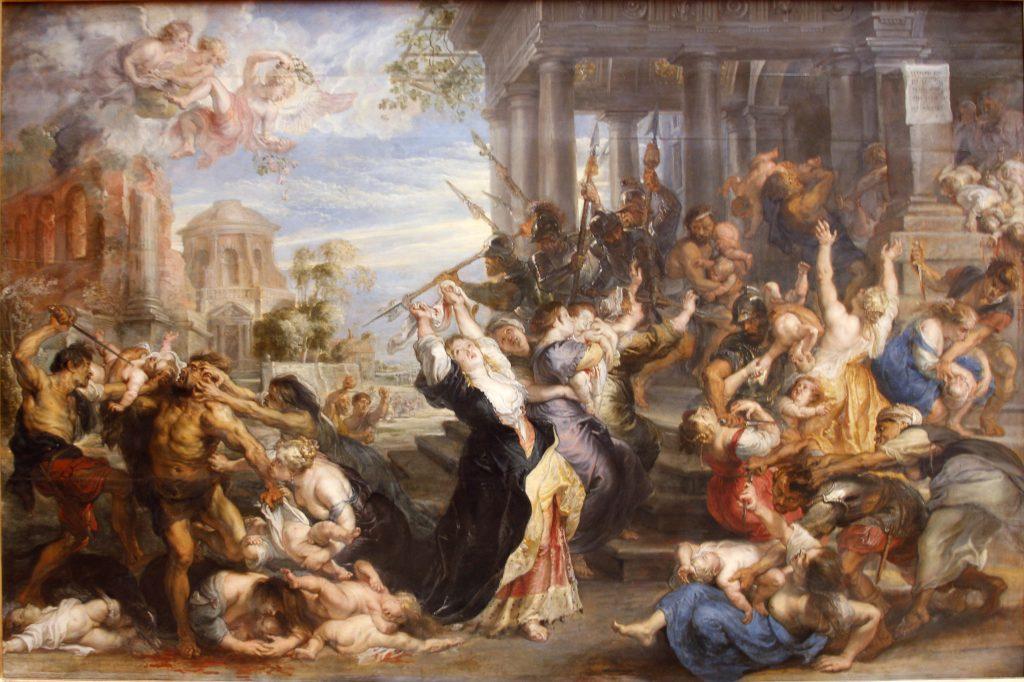 kutsal masumların katli kral herodes incil