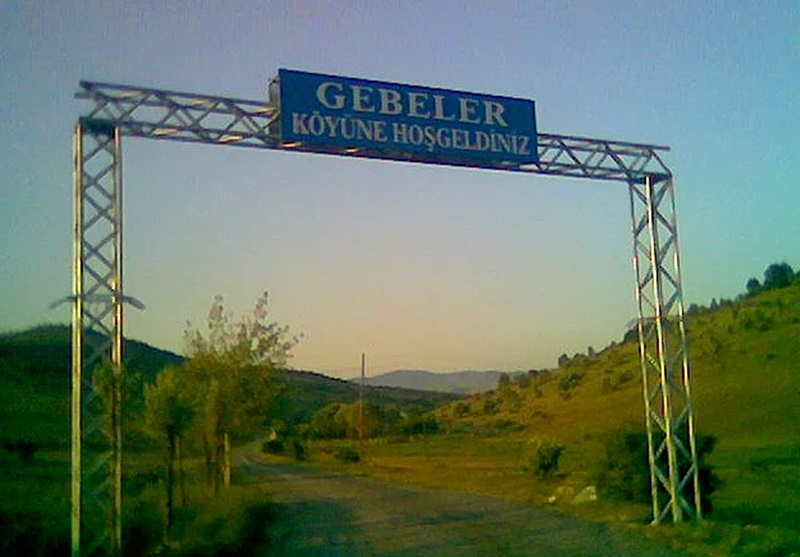 Garip köy isimleri - Gebeler Köyü