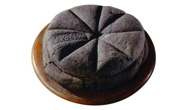 ekmek tahıl pompei