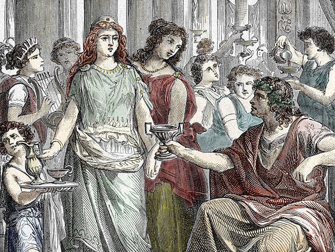 antik roma şarap