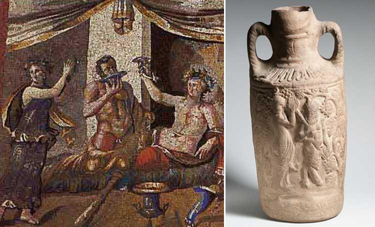 antik roma içki içecek listelist