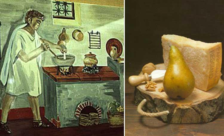 antik roma süt ürünleri peynir listelist
