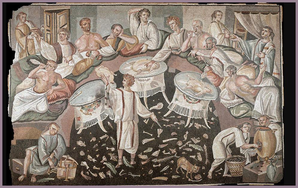 fresk mozaik