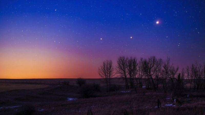 Jüpiter ve Satürn