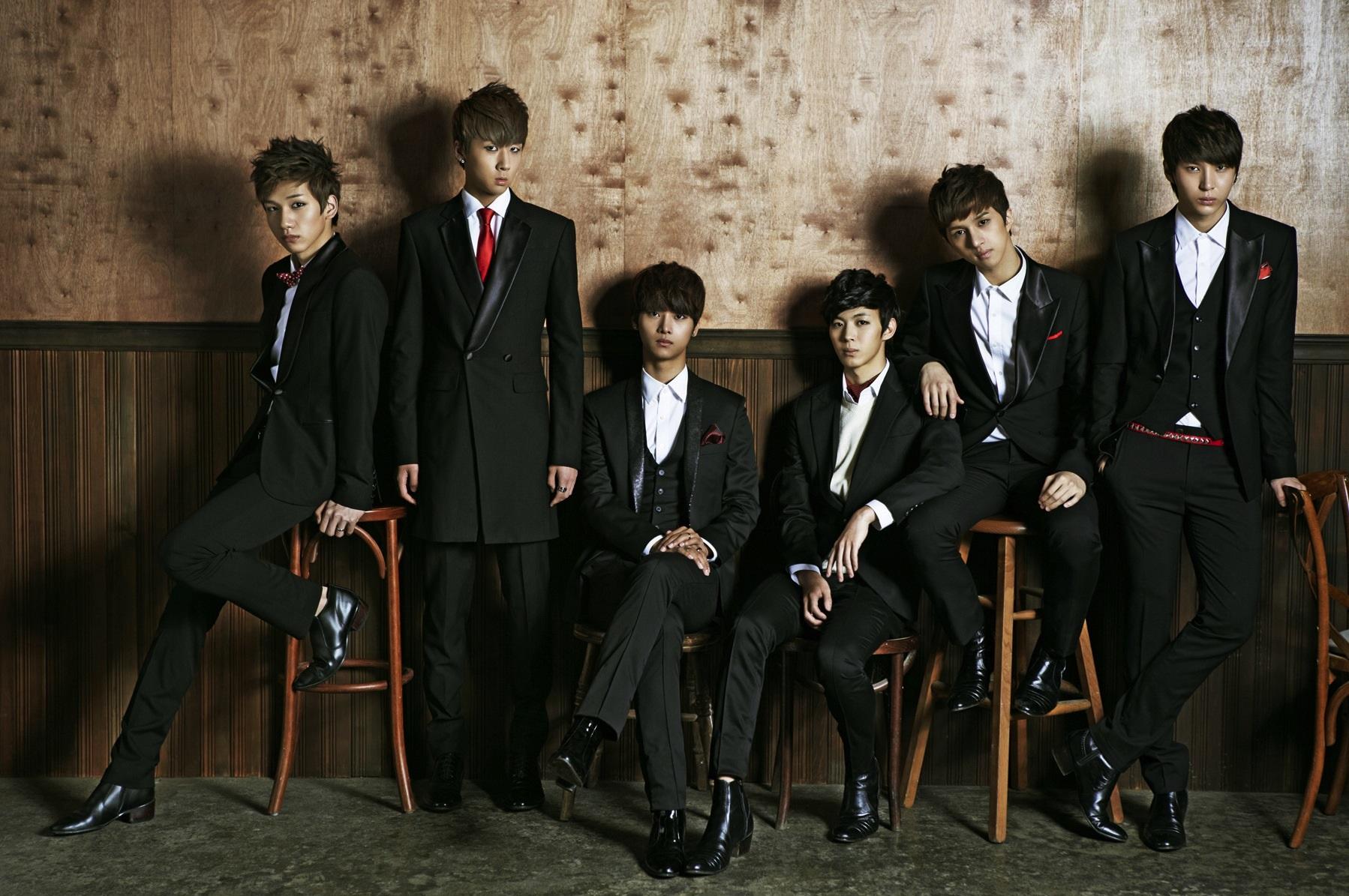 VIXX k-pop grupları