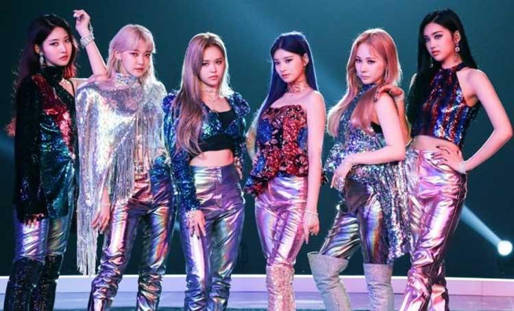 Everglow k-pop grupları listelist