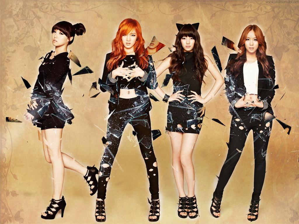 miss a k-pop grupları listelist