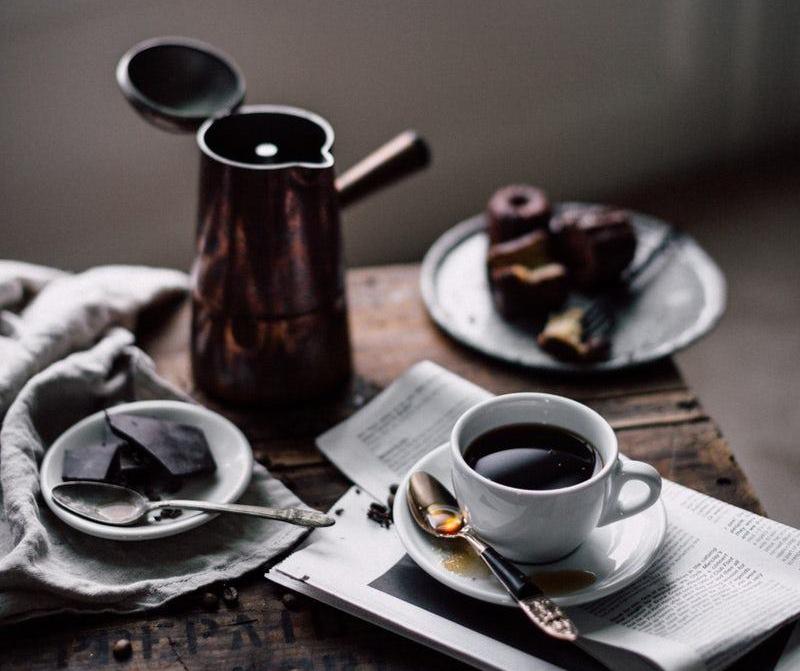kahvaltıda çikolata