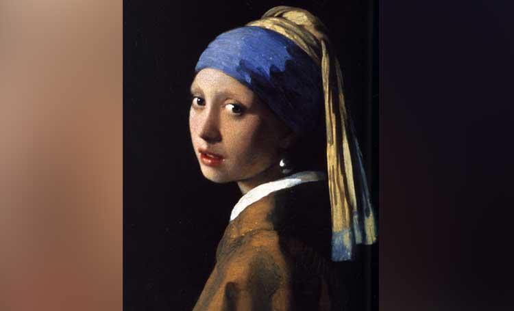 Girl with a Pearl Earring İnci Küpeli Kız johannes vermeer