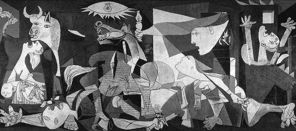 guernica dünyanın en ünlü tabloları listelist pablo picasso