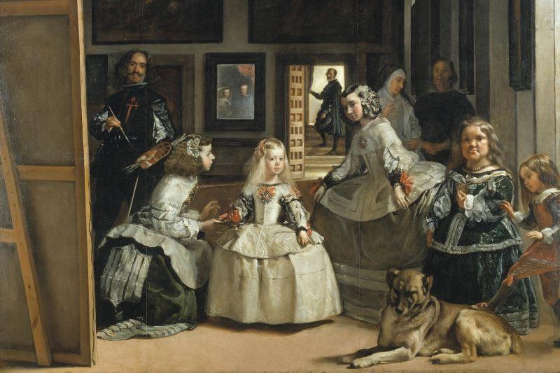nedimeler tablosu las meninas Diego Velazquez dünyanın en ünlü tabloları listelist