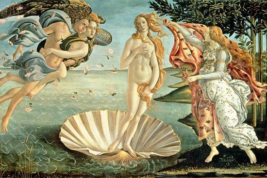 The Birth of Venus dünyanın en ünlü tabloları listelist venüsün doğuşu Sandro Botticelli