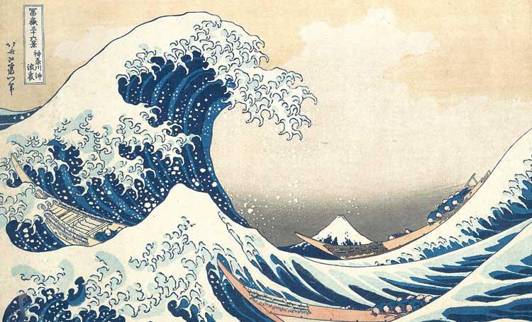 The Great Wave (Büyük Dalga), Katsushika Hokusai