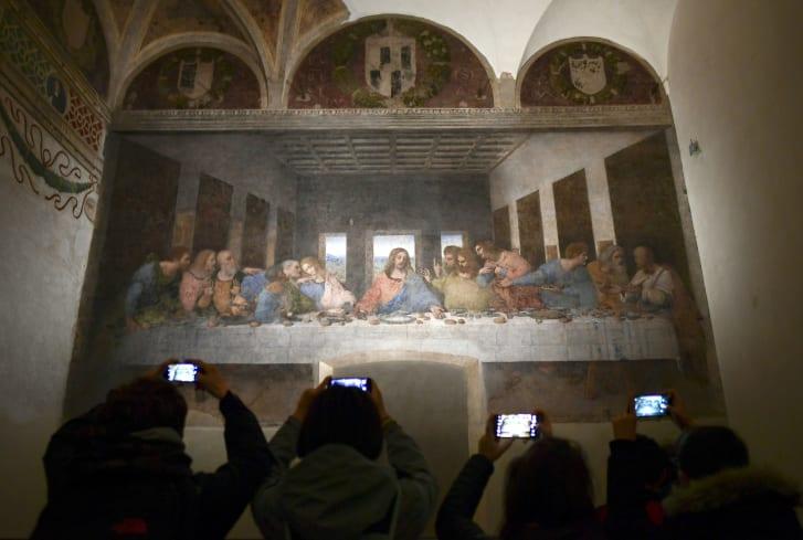 The Last Supper son akşam yemeği leonardo da vinci dünyanın en ünlü tabloları listelist