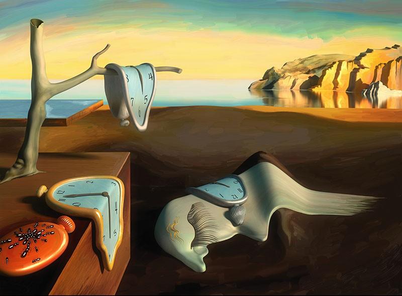 The Persistence of Memory dünyanın en ünlü tabloları listelist belleğin azmi salvador dali