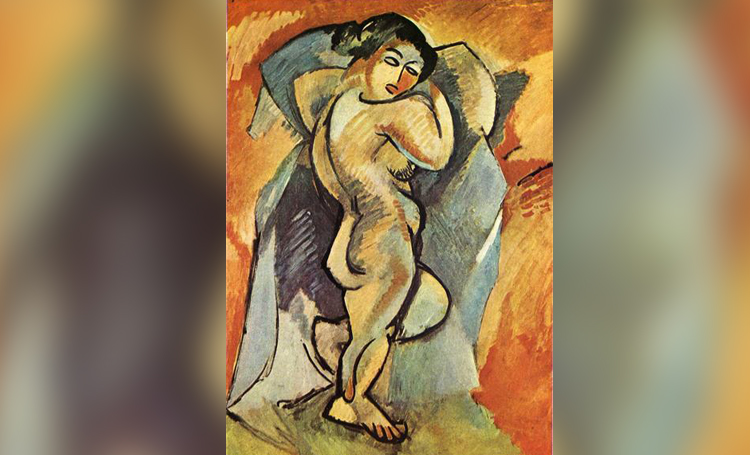 Large Nude georges braque