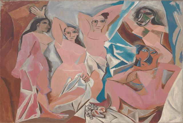 Les Demoiselles d'Avignon avignonlu kızlar