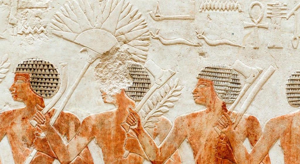 antik mısır silahları