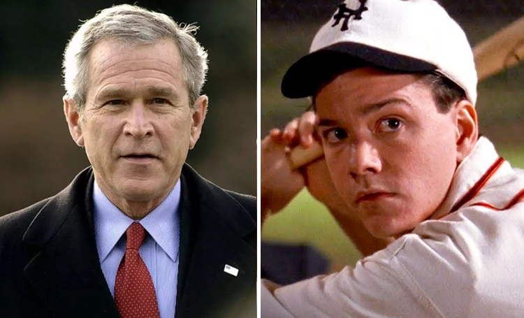 George Bush Field of Dreams ünlülerin favori filmleri listelist
