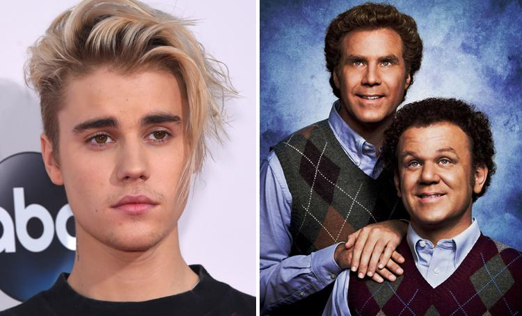 Justin Bieber Step Brothers ünlülerin favori filmleri listelist