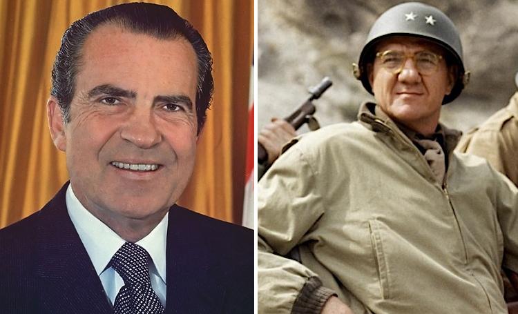 Richard Nixon Patton ünlülerin favori filmleri listelist