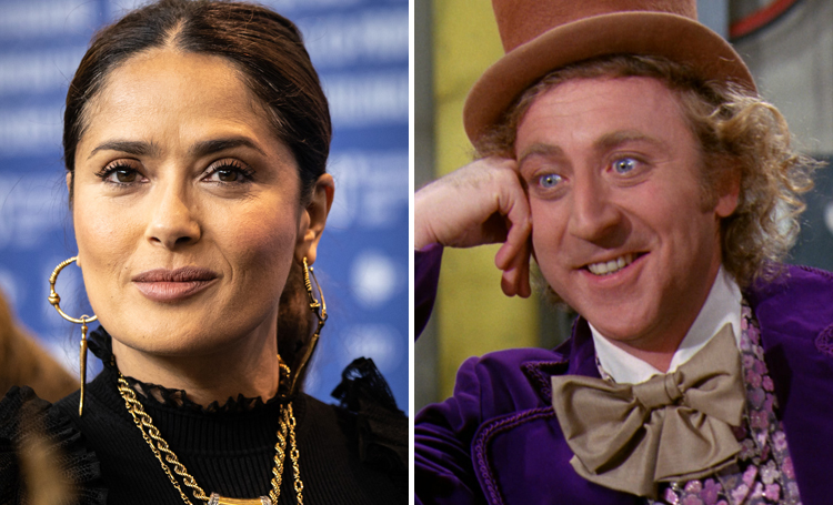 Salma Hayek Willy Wonka & the Chocolate Factory ünlülerin favori filmleri listelist