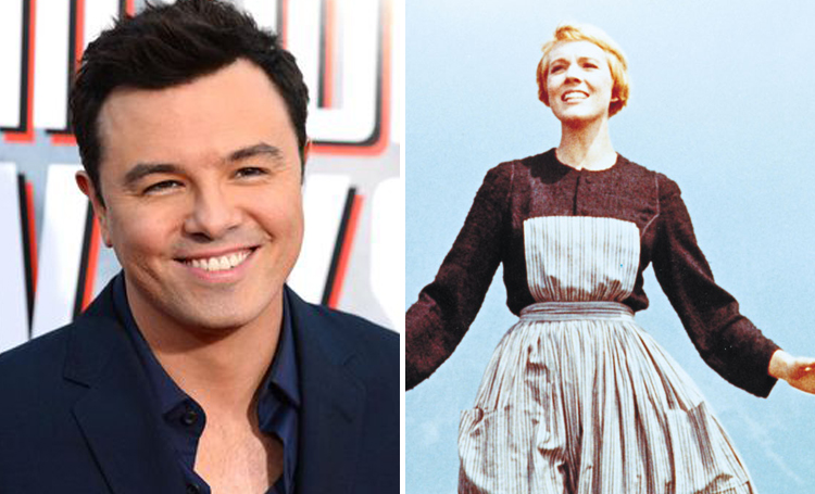 Seth MacFarlane The Sound of Music ünlülerin favori filmleri listelist