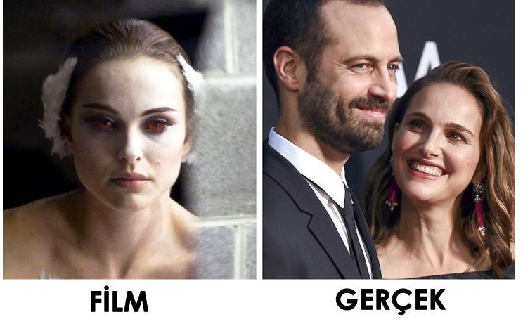 Oyuncuların evlilikle biten filmleri