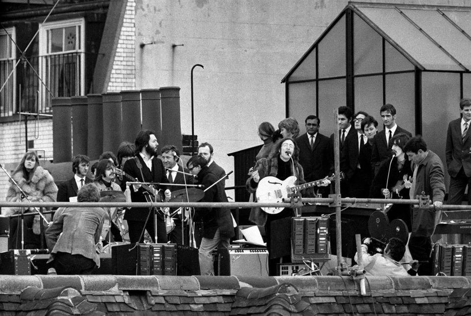 The Beatles çatı konseri