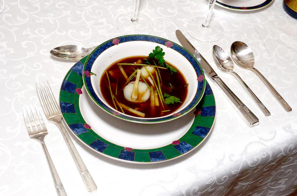 Titanikin son yemek menüsü