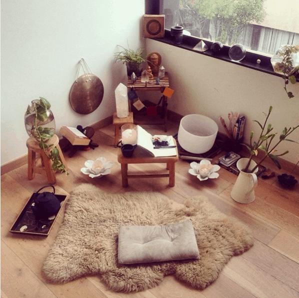 meditasyon malzemeleri