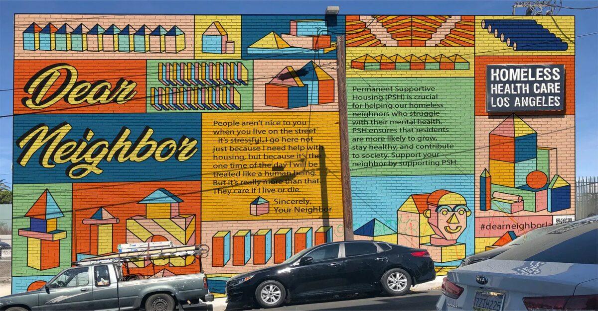 skid row Dear Neighbor Mural Sevgili Komşu Duvar Resmi listelist