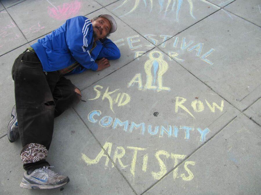 festival skid row sanatçı