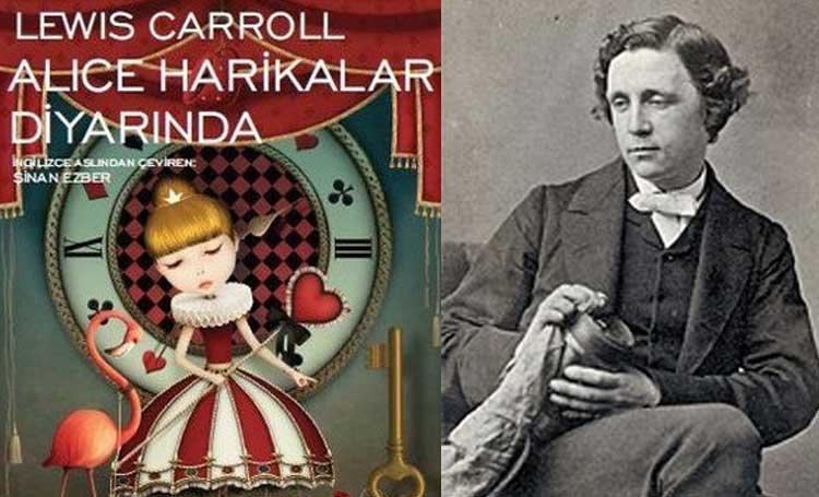 Lewis Carroll ünlü yazarlar mahlas takma ad listelist